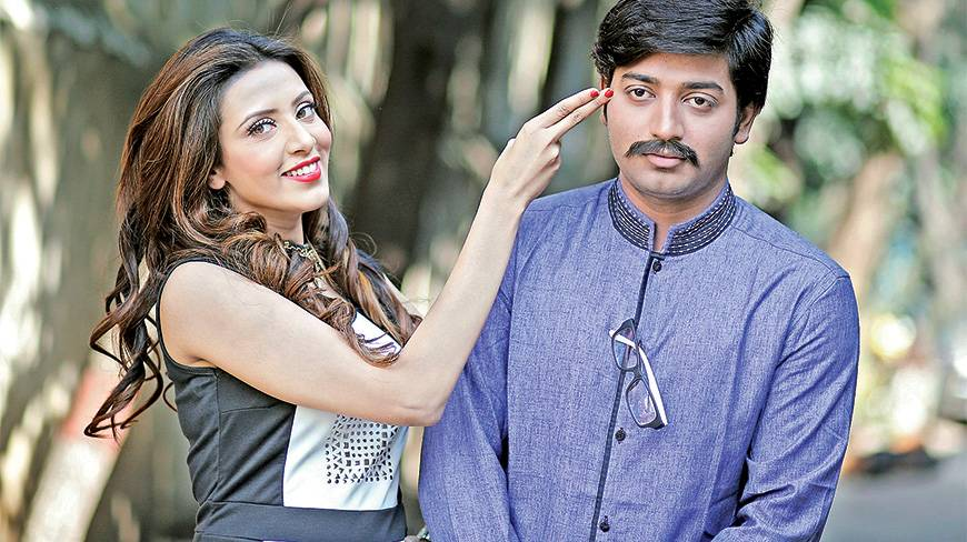 Mim and Bappy's Sweetheart begins shooting « Film « DHAKA NEWS